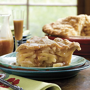 Double Apple Pie with Cornmeal Crust | Apple Recipes